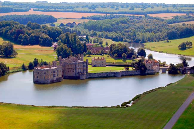 Leeds castle in one of the best preserved castles in the West Yorkshire county.